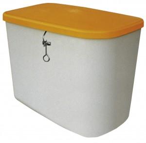Opslagbak als  strooigoedbox Kompakt, met 130 liter inhoud