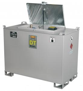 Mobiele Cemo cube tank van 980 liter