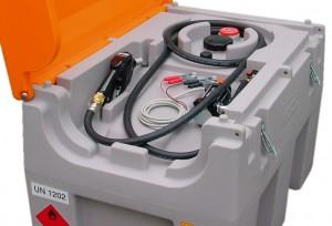 Dieseltanks DT mobiel easy  voor volgens ADR 1.1.3.1c