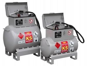 Cemo mobiele brandstoftank van 90 liter en 200 liter inhoud