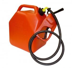 25 liter tank van Cemo met pomp voorzien van vulpistool