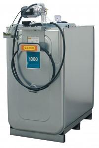 Olietank als ECO smeerolie-compacte installatie, elektrisch voor verse olie