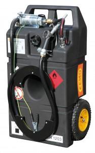 Benzinetank als Trolley voor benzine met 53/60/95 liter inhoud