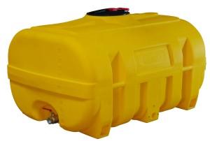 watertank als Koffervormige  PE- vaten (polyethyleen)