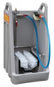 Laarzenreiniger van hoogwaardig polyethyleen materiaal