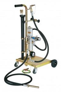 Afzuigapparaat pneumatisch,voor brandstof, 2-takt-mengsel, diesel en olie