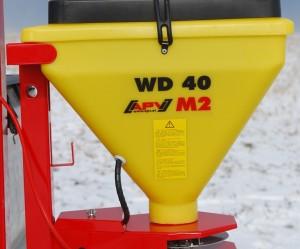 Zoutstrooier WD 40 M2, elektrisch aangedreven schotelstrooier met 40 liter bakinhoud(prijslijst blz. 86/87