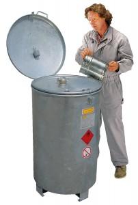 Opslagtank als AI – verzamel-tank voor brandbare vloeistoffen