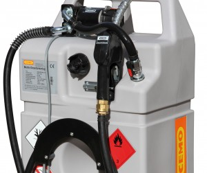 Dieseltank als trolley uitvoering  met 60 en100 liter inhoud