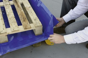 Opvangbak als opvouwbare PVC-bakken, 75/ 175/210 liter