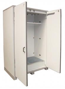 Veiligheidskasten als brandbeveiligde vatenkast F90