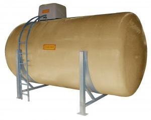 Opslagtank als GVK -tank voor chemicaliën