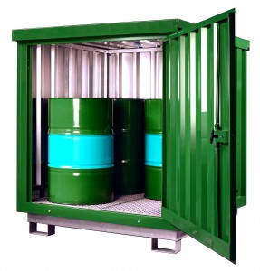 Containers als veiligheids-compact-container