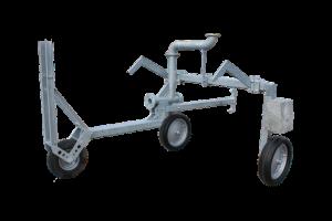 Regen-rijspoor-statief met  3 wielen