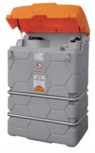 1000 liter Cube olietank voor afgewerkte olie
