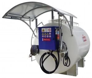 Benzinetanks voor vliegveld-tankinstallatie 3000/5000 liter