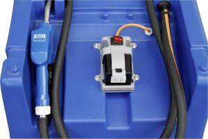 AdBlue tank als mobiel Easy leverbaar met elektrische dompelpomp