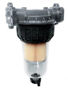 Filter met kijkglas voor diesel/biodiesel en benzine/benzinemengsel(blz 110/111)