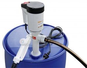 Pomp ECO 1 op vaten/tanks voor AdBlue met volume-dosering in 6 standen