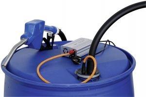 AdBlue pompen systeem als dompelpomp op vaten en tanks