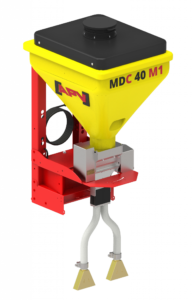 Zaai/strooimachines  als multidoseermachines MDP/MDS/MDG(MDC alleen 40 liter)  van APV met 40 en 100 liter inhoud(prijslijst blz.22-29)