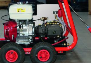 Hoge druk reiniger, KDB 1240-Premium, koud water, met Honda benzine motor, mobiel, (prijslijst blz 12)