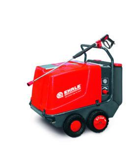 Hoge druk reiniger, HDE840  18KW-Standard, warm water, elektrisch verwarmd, mobiel, (prijslijst blz 18)