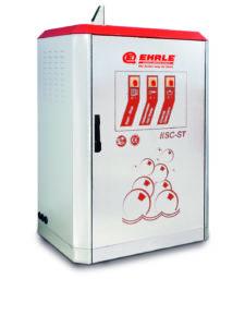 Hoge druk reiniger, HSC 1140-INOX, RVS (voor levensmiddelen) warm water, olie verwarming, stationair, (prijslijst blz 28)