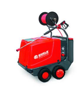 Hoge drukreiniger, HDE 840 24 KW Premium, warm water,elektrisch verwarmd, mobiel ( prijslijst blz 19)