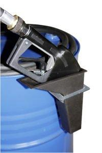 Tankpistool-houder  voor vaten van 60 liter en 100 liter