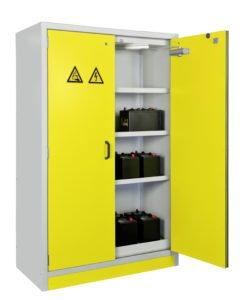 Veiligheidskast F90 voor opslag van Lithium-accu's (blz.183)
