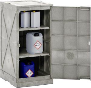 PE-chemicaliën-kast met hoge bestendigheid, voor opslag van corrosief medium (prijslijst blz. 181)