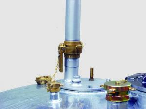 Verzamelaar, GS mobiel,400 ltr./600 ltr./980 ltr., voor gevaarlijke en brandbare vloeistoffen (prijslijst blz. 205)