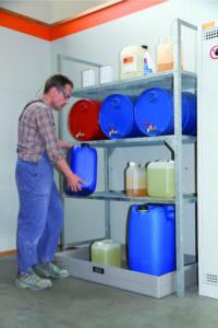 Vatenrek, type 540 voor kleine verpakking en tot 12 x 60 ltr vaten, (prijslijst blz. 172)  T
